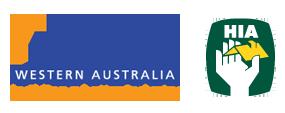 Master Builders Logo and HIA Logo